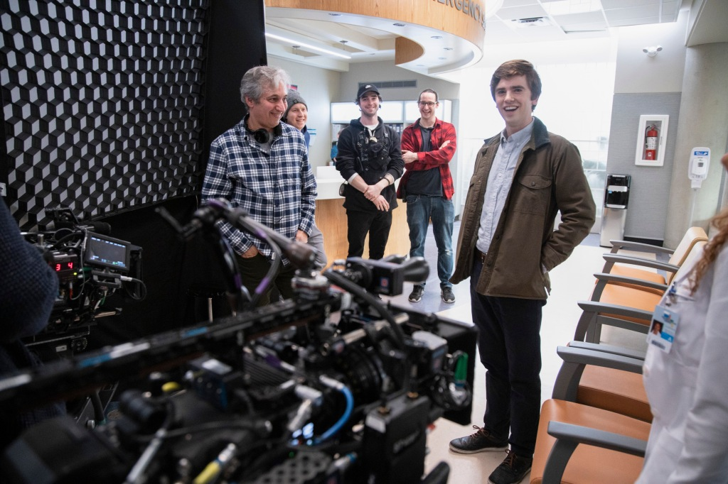 Freddie Highmore and David Shore, The Good Doctor