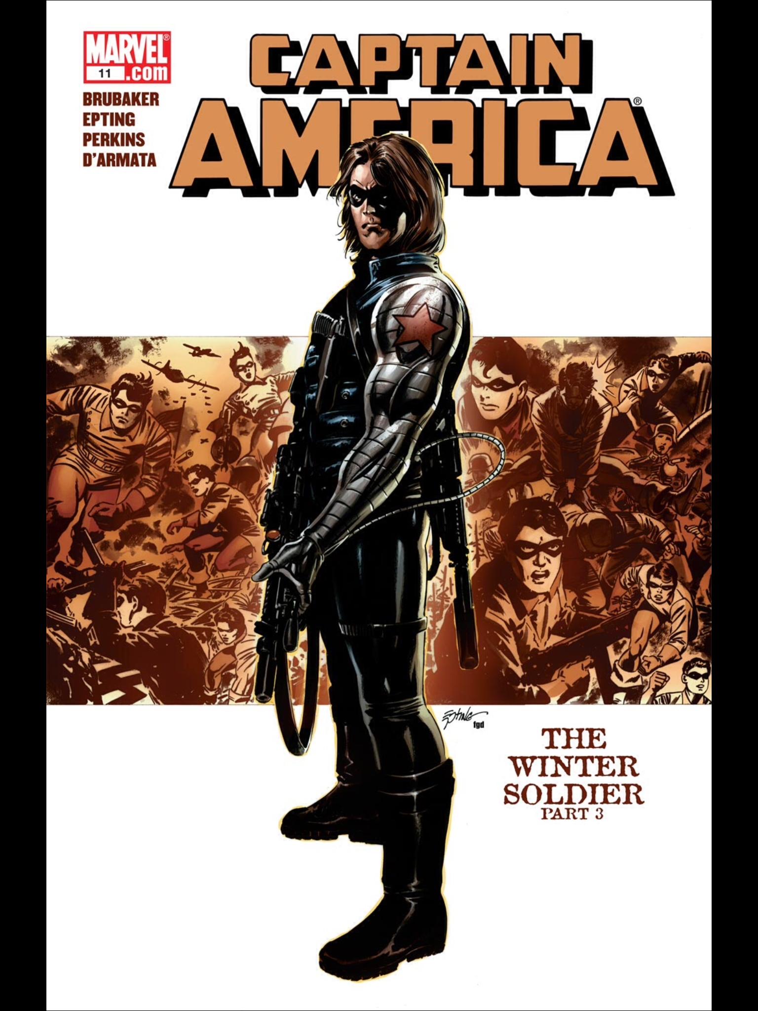 Winter Soldier Marvel Comics Captain America