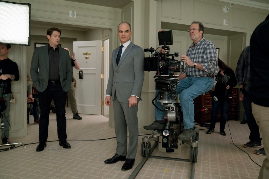 Michael Kelly behind the scenes of 'House of Cards'