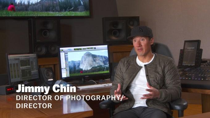 Jimmy Chin Free Solo