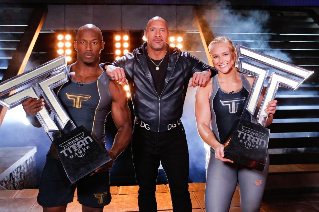 Dwayne Johnson, The Titan Games