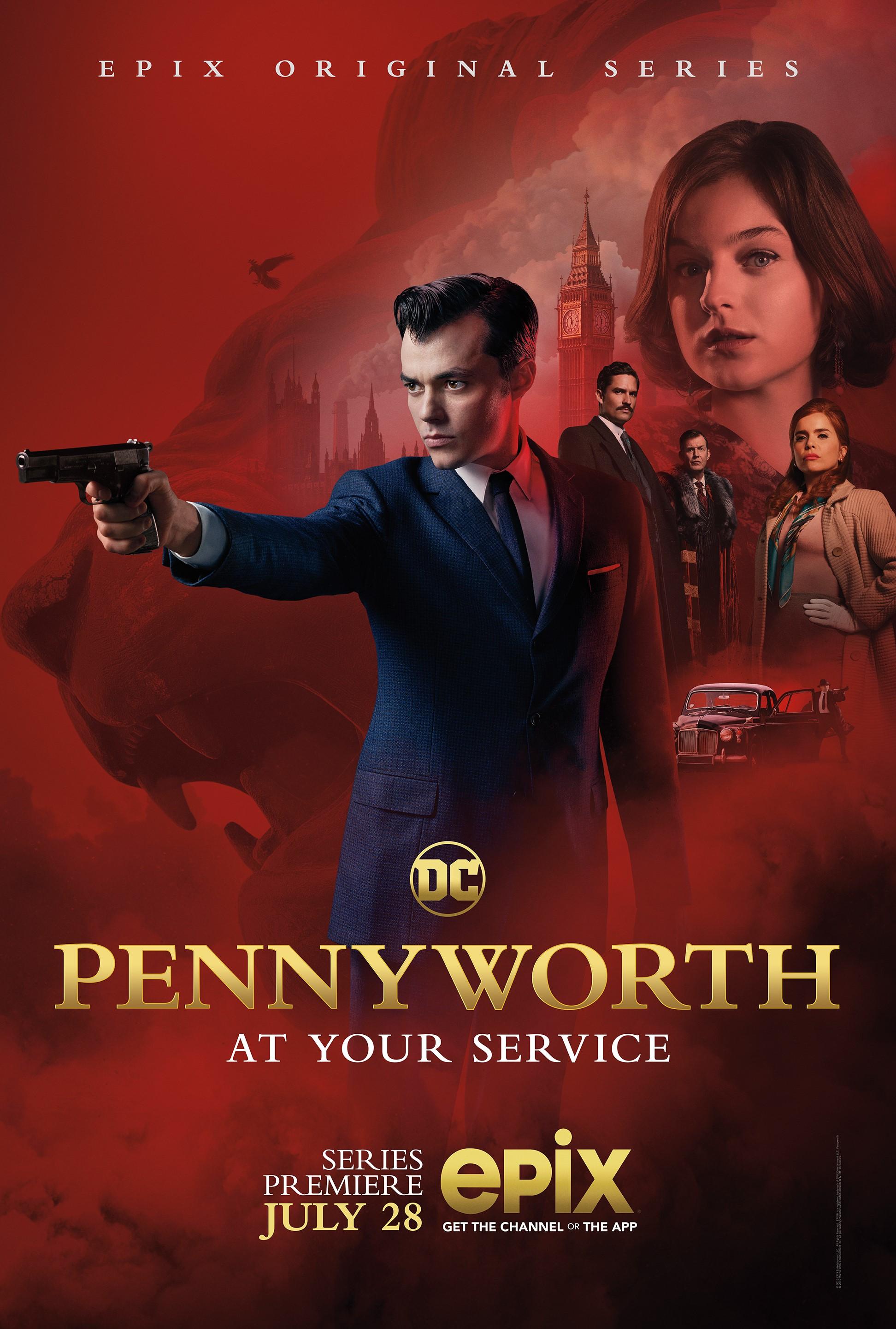 Pennyworth Batman DC Comics Epix