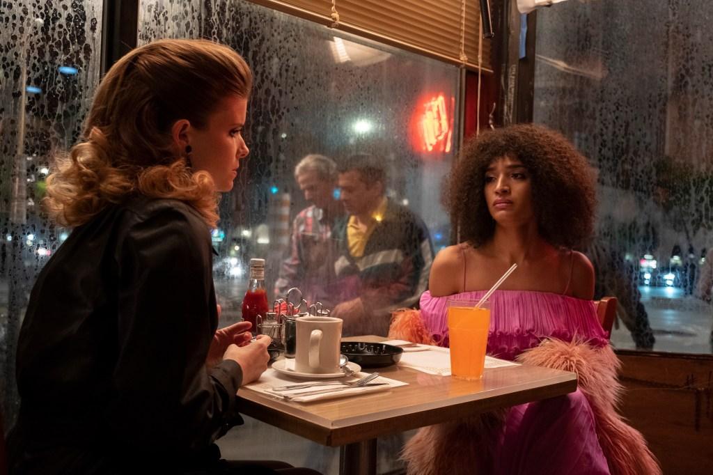 Kata Mara and Indya Moore in 'Pose'