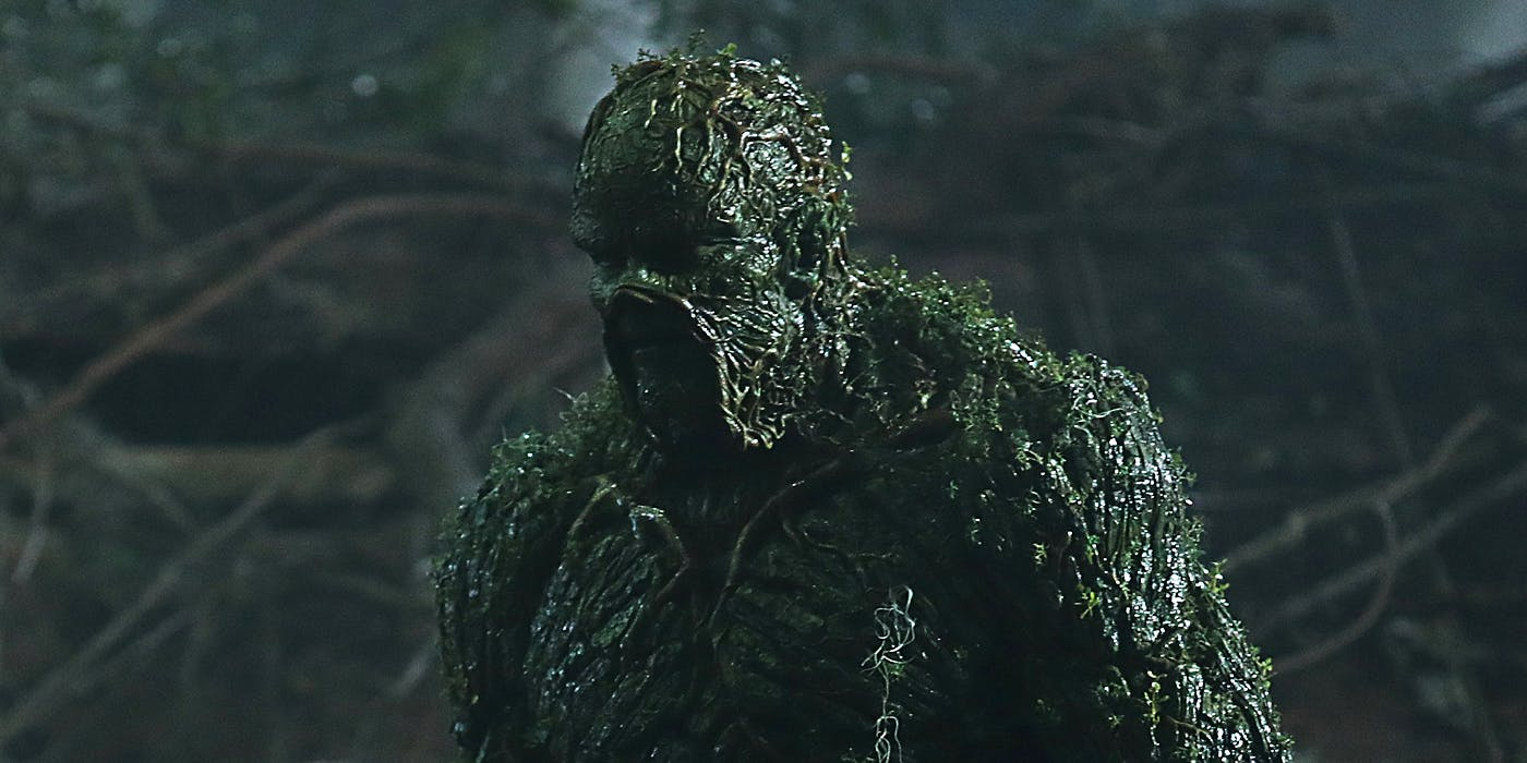 Swamp Thing DC Comics TV series