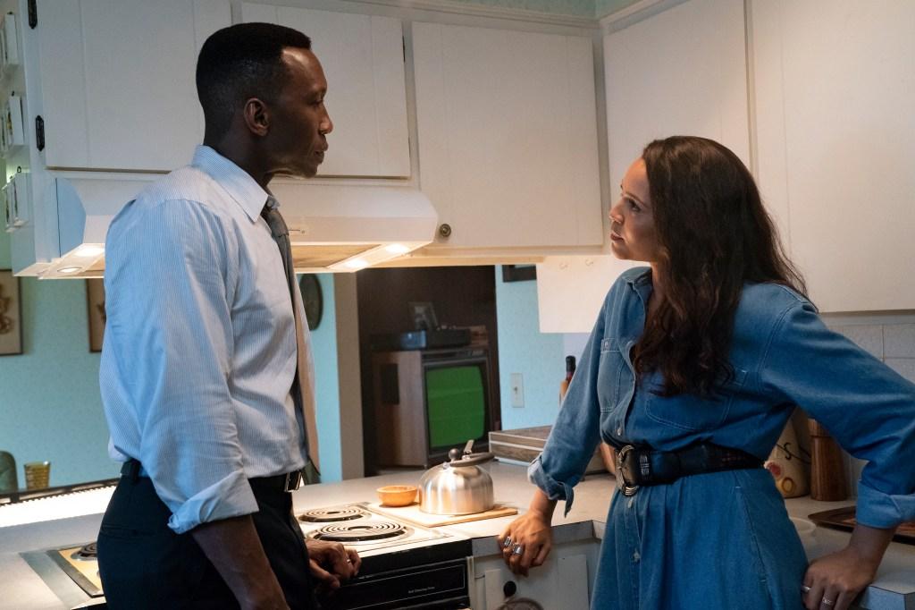 Mahershala Ali and Carmen Ejogo in 'True Detective'