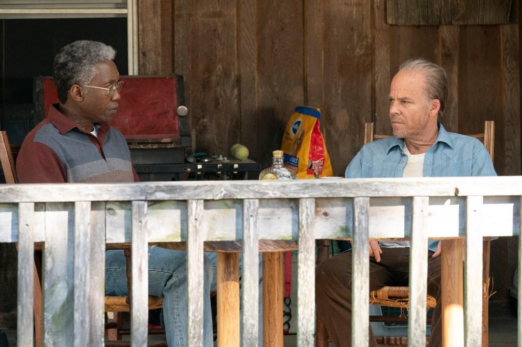 Mahershala Ali and Stephen Dorff in 'True Detective'