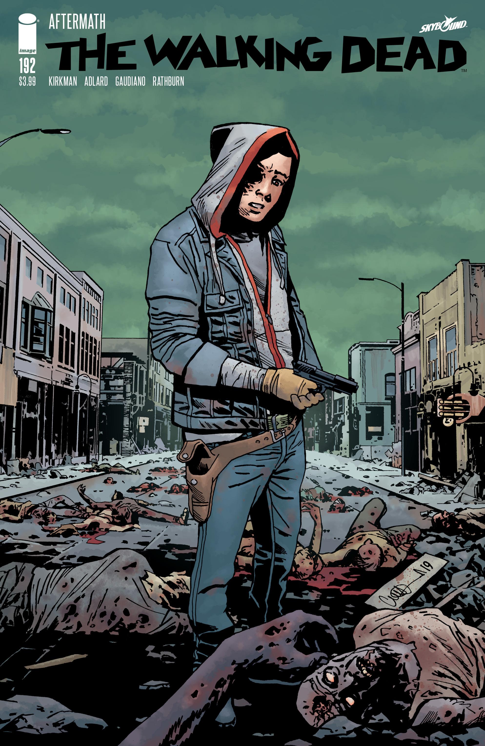 Robert Kirkman Walking Dead Image Comics