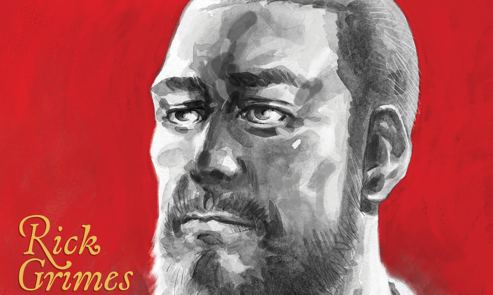 Robert Kirkman Rick Grimes Walking Dead
