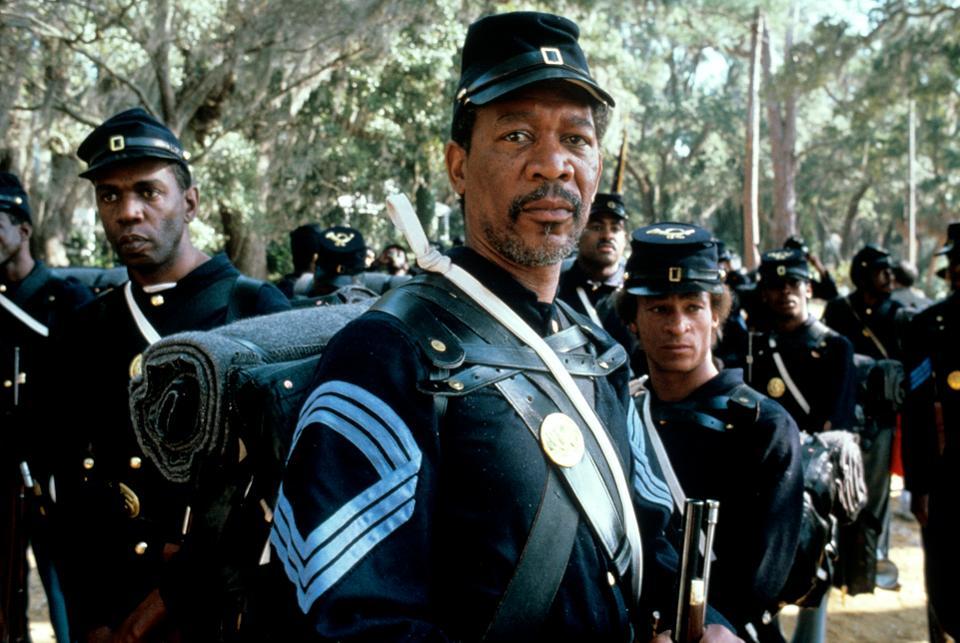 Morgan Freeman Glory 1989
