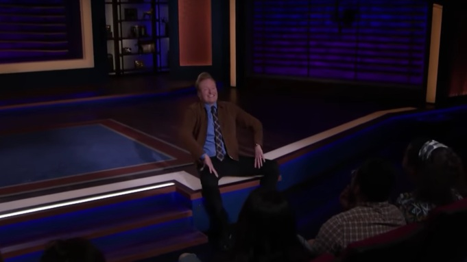 Conan O'Brien Interviews Assistant When Kumail