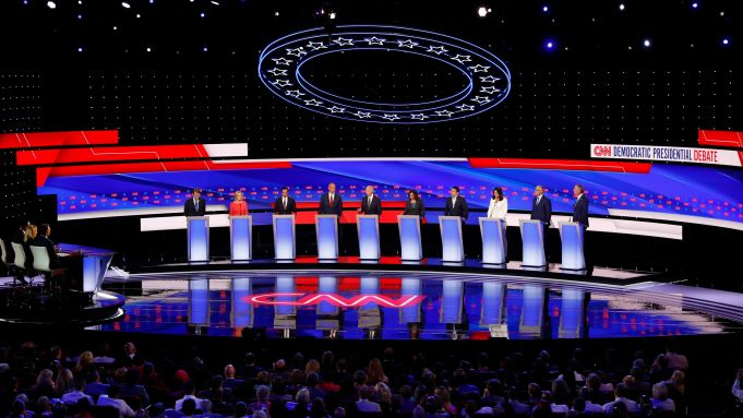 Democratic Debate Night 2 Review Everyone Attacks Joe Biden Deadline