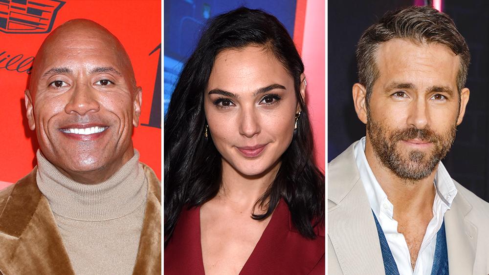 Netflix Takes Red Notice, Ryan Reynolds, Dwayne Johnson, Gal Gadot – Deadline