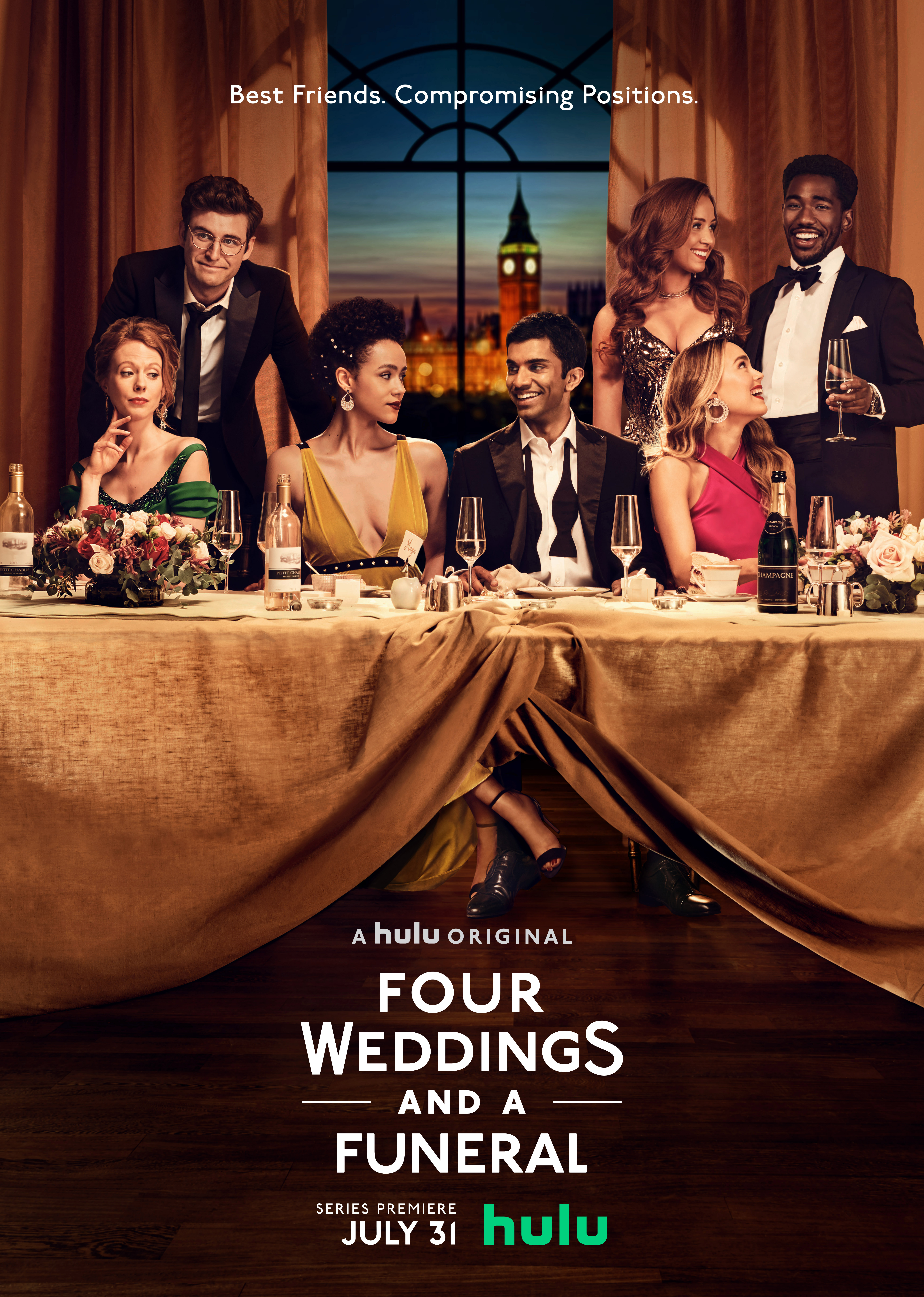 Four Weddings and a Funeral Key Art