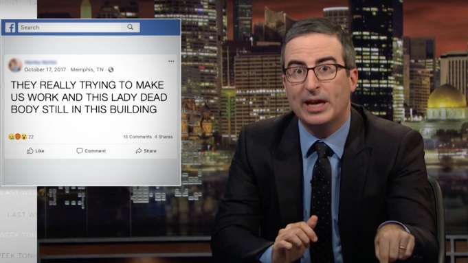 John Oliver: Why Is Amazon The