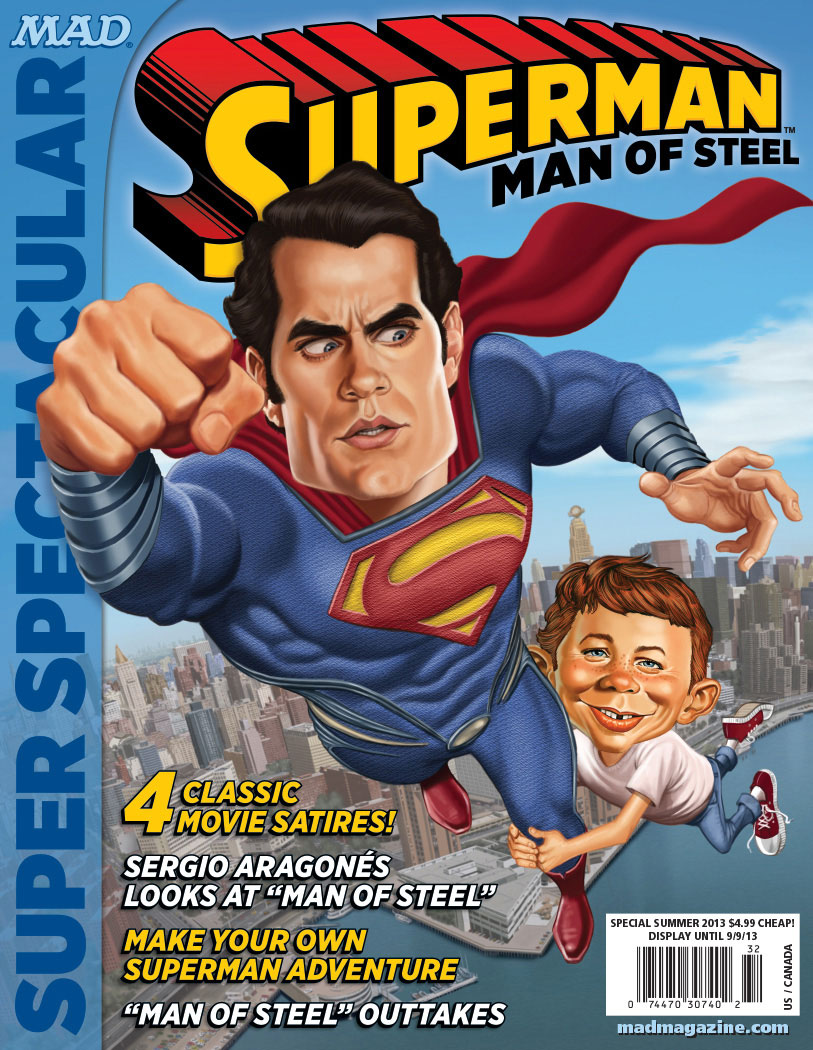superman Henry Cavill mad magazine