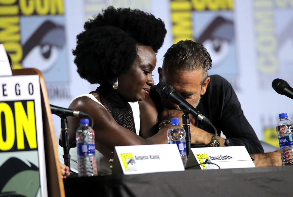 Danai Gurira Comic-Con Walking Dead