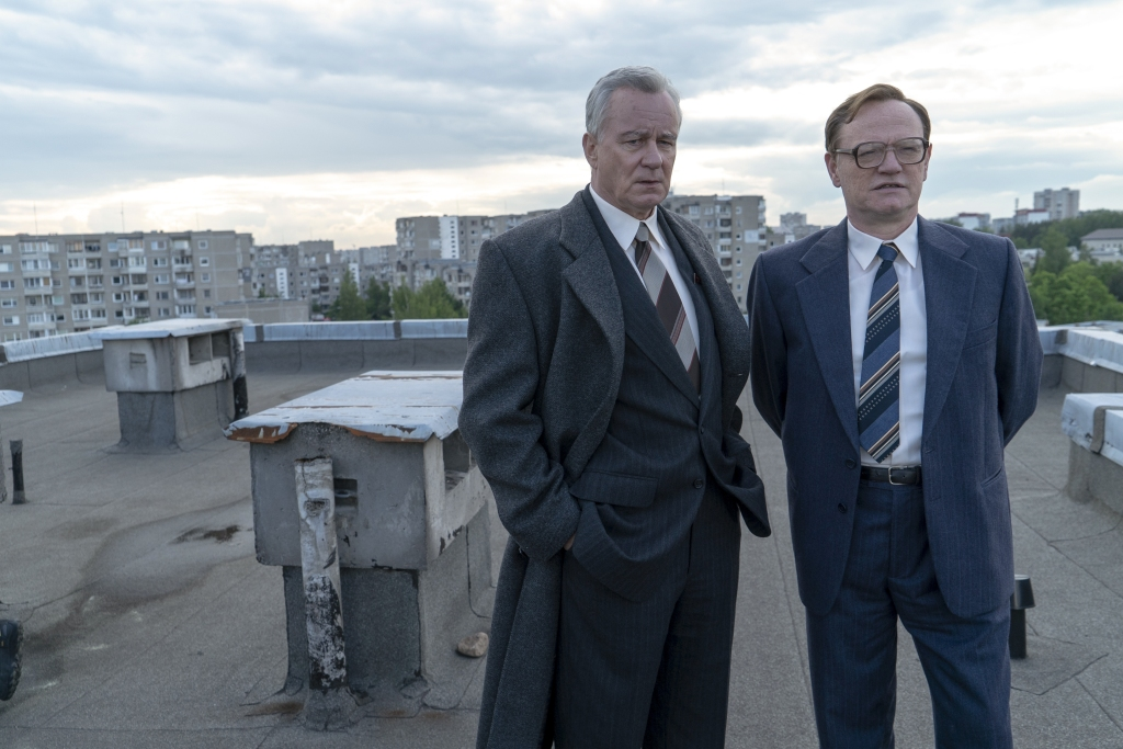 Jared Harris and Stellan Skarsgard in 'Chernobyl'