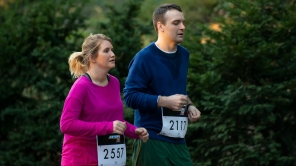 Jillian Bell and Micah Stock in 'Brittany Runs a Marathon'