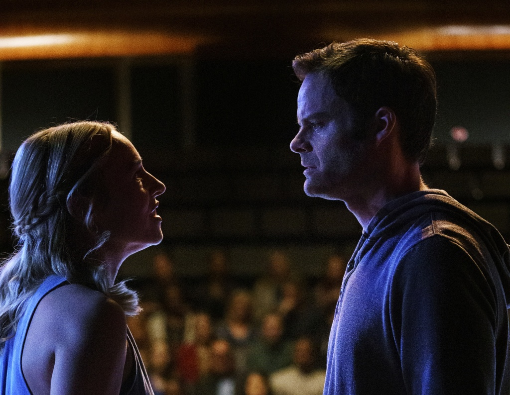 Sarah Goldberg and Bill Hader in 'Barry'