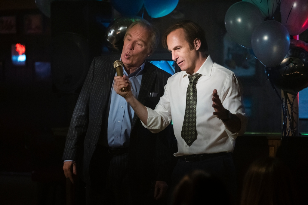 Bob Odenkirk and Michael McKean in 'Better Call Saul'