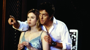 Hugh Grant and Renee Zellweger in 'Bridget Jones' Diary'