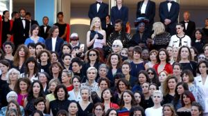 Cannes women's march