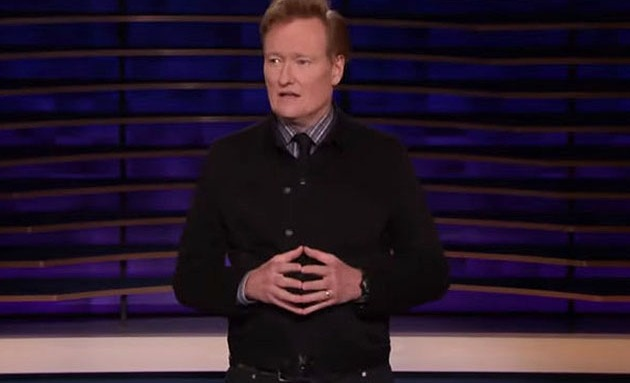 "Conan O'Brien on ""Conan"" on Monday,"
