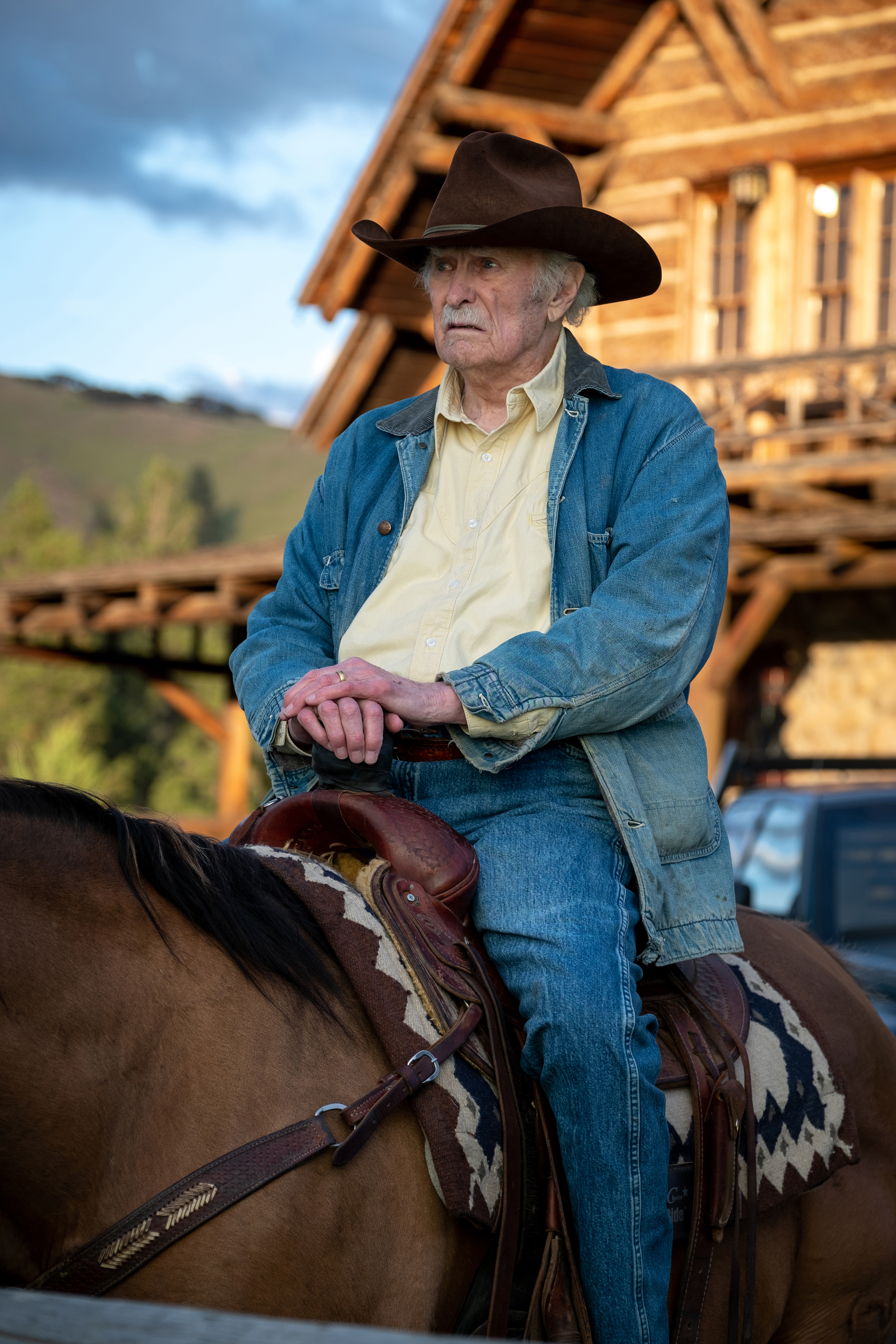 Dabney Coleman in Yellowstone