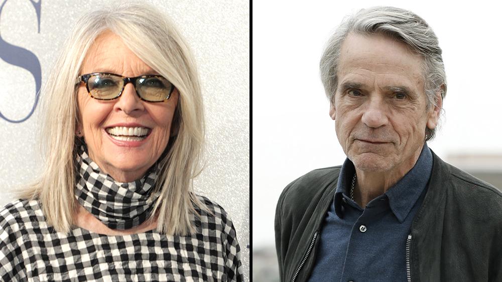 Diane Keaton Jeremy Irons Topline Love Weddings Other Disasters Comedy From Dennis Dugan Deadline