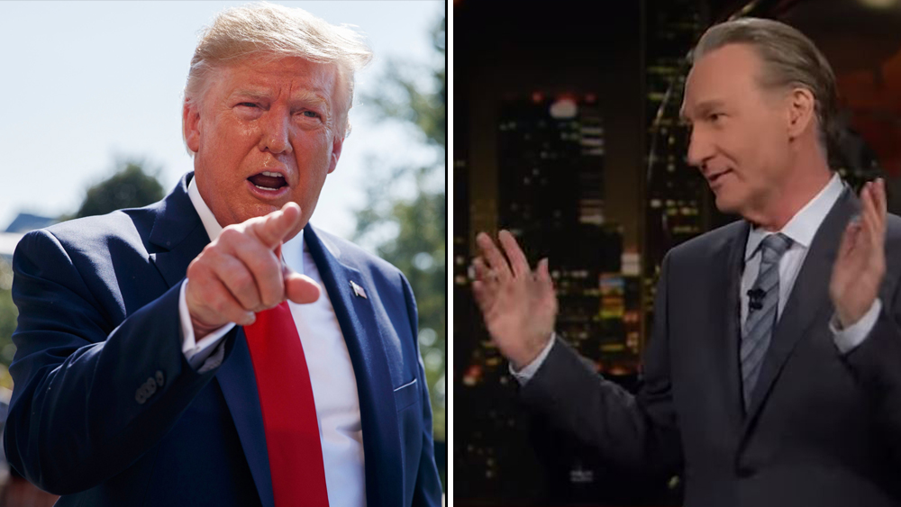 Donald Trump rips Bill Maher guest on Twitter
