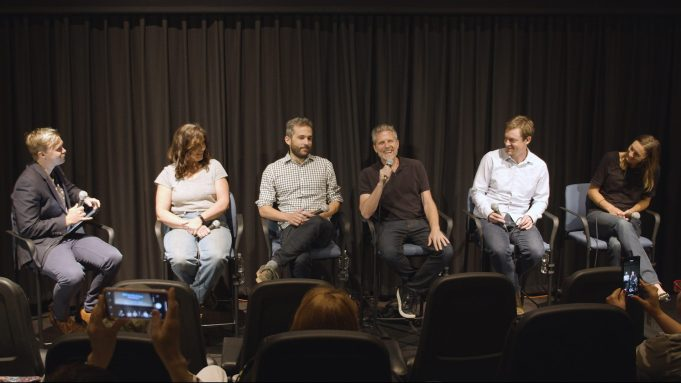 A Panel with 'Life Below Zero'