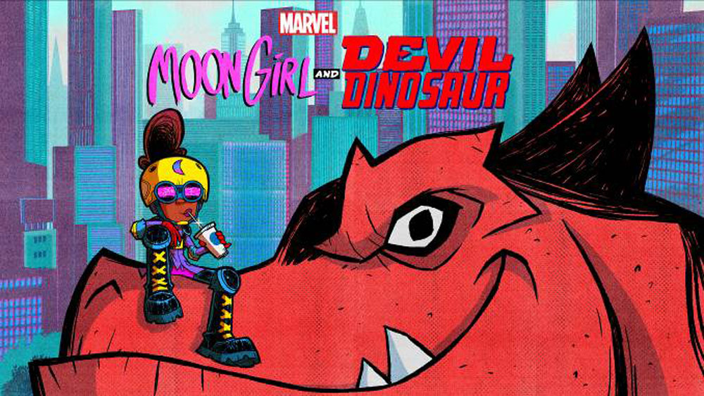 Image result for moon girl and devil dinosaur show