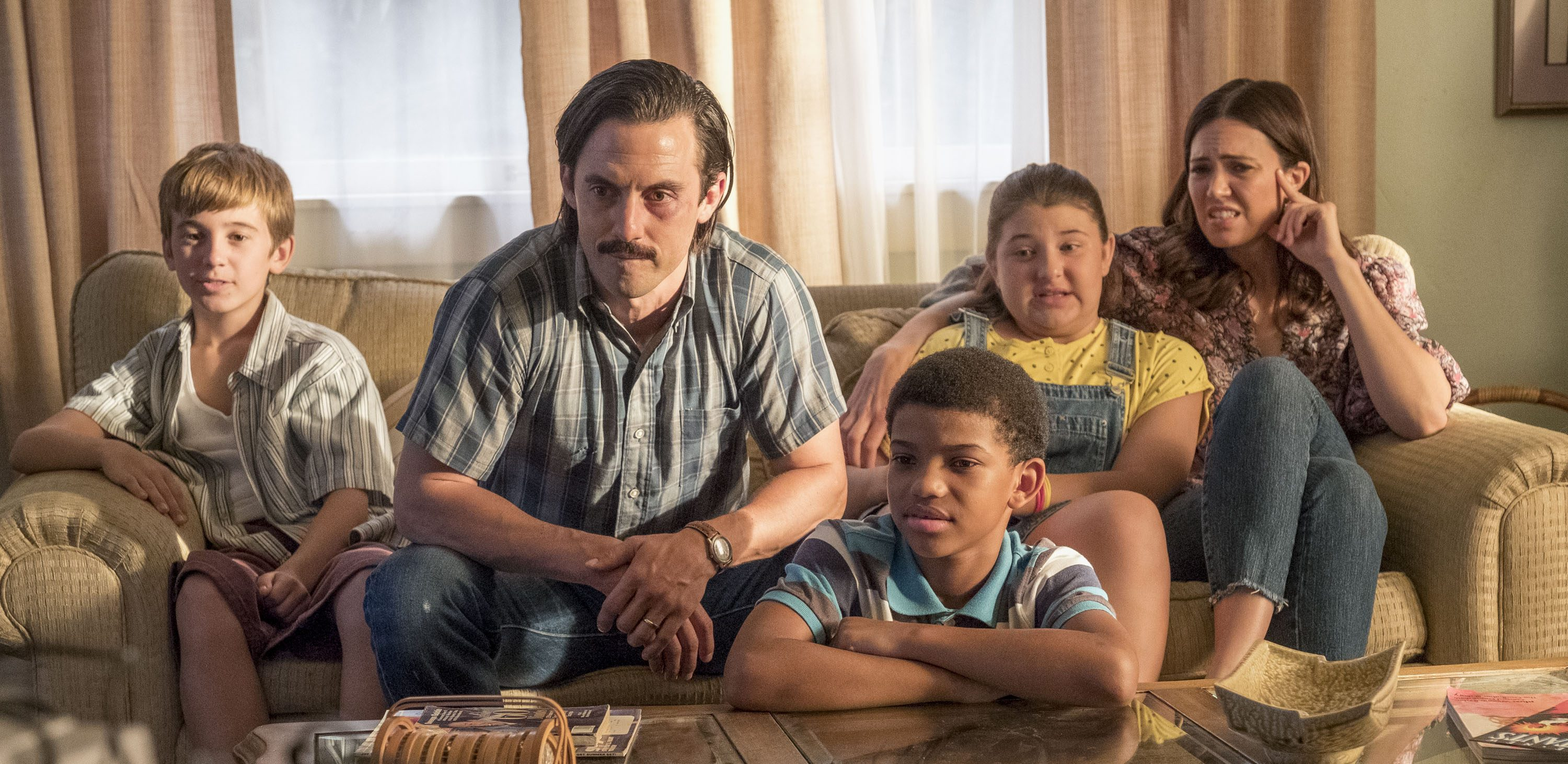 Milo Ventimiglia and Mandy Moore in 'This Is Us'