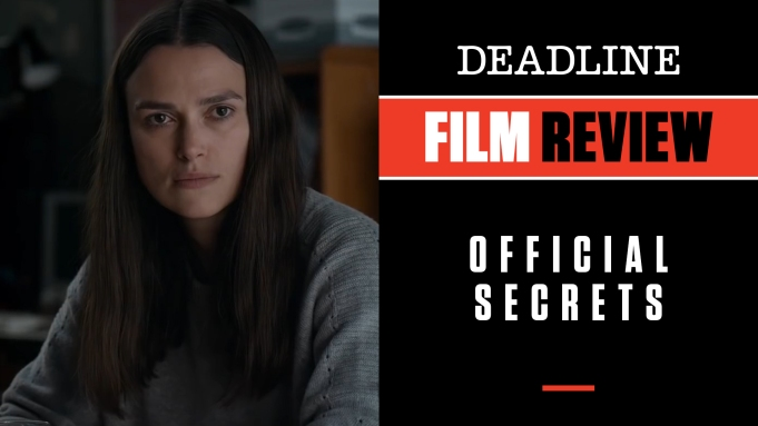 [WATCH] 'Official Secrets' Review: Keira Knightley
