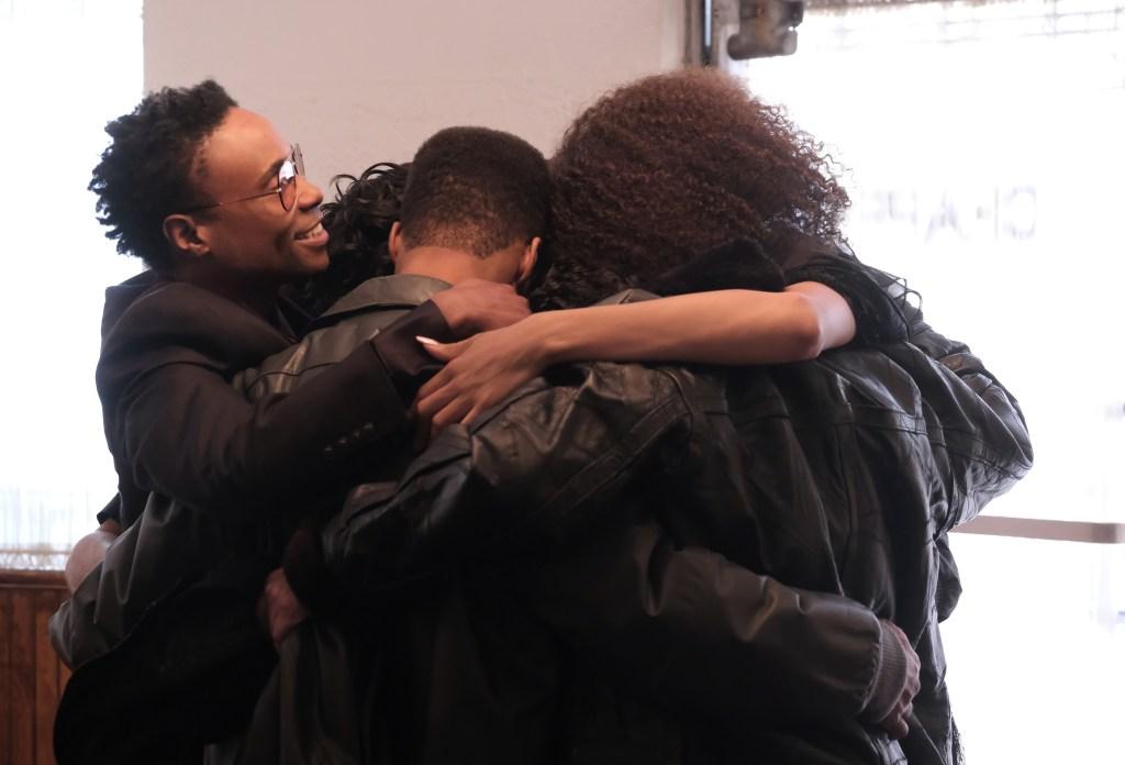 Billy Porter, Mj Rodriguez, Dyllon Burnside and Indya Moore in 'Pose'