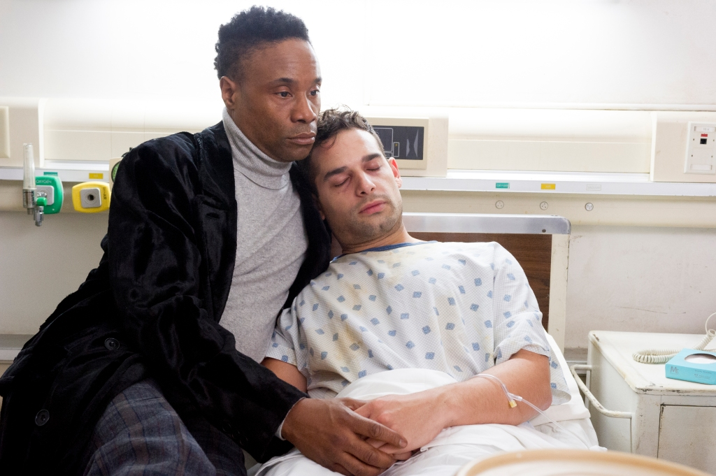 Billy Porter and Johnny Sibilly in 'Pose'