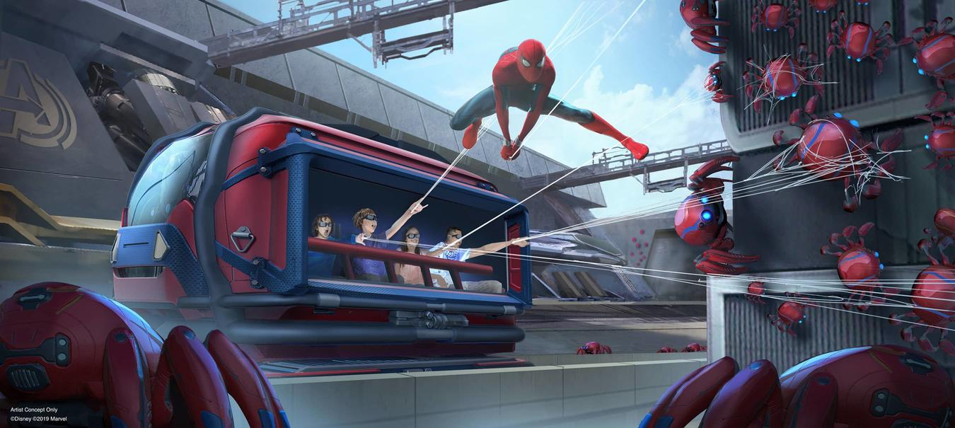 Tom Holland Teases Disneyland's Upcoming Spider-Man Attraction