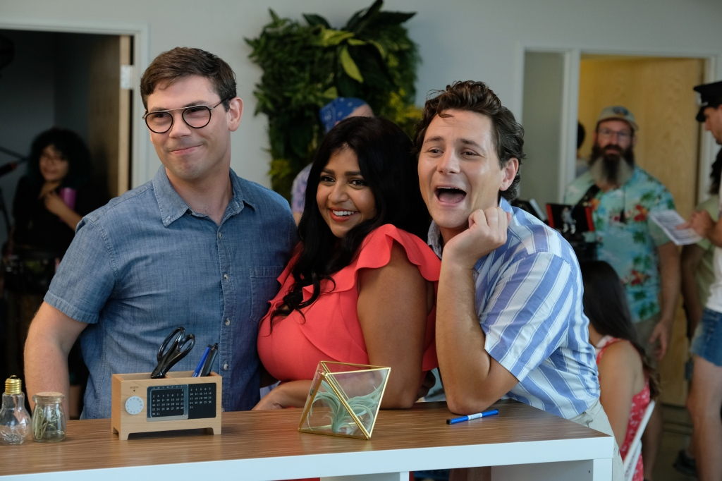 Ryan O'Connell, Augustus Prew and Punam Patel in 'Special'