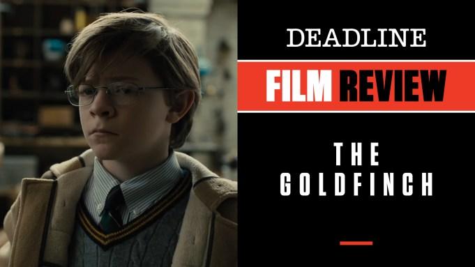 [WATCH] 'The Goldfinch' Review: Movie Pulitzer-Winning