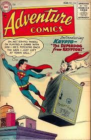 Krypto Superman Superboy DC Comics Titans Adventure Comics 1955