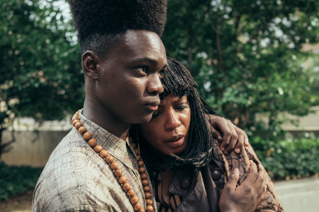 Aunjanue Ellis and Ethan Herisse in 'When They See Us'