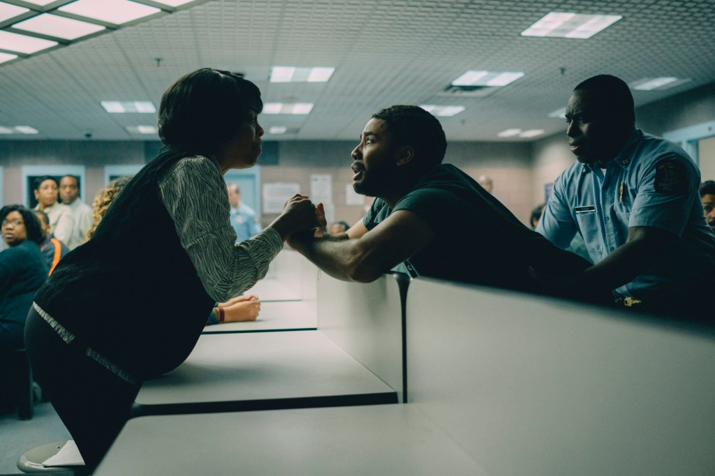 Jharrel Jerome and Niecy Nash in 'When They See Us'