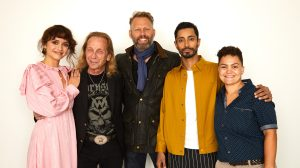 'Sound of Metal' director Darius Marder with stars Olivia Cooke, Riz Ahmed, Paul Rafi