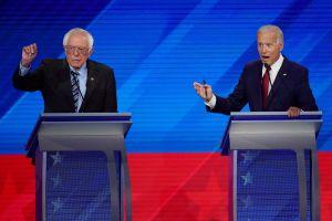 Bernie Sanders Joe Biden Democratic Debate