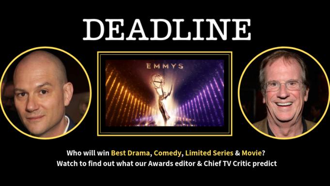 WATCH: Final Emmy Predictions By Deadline's