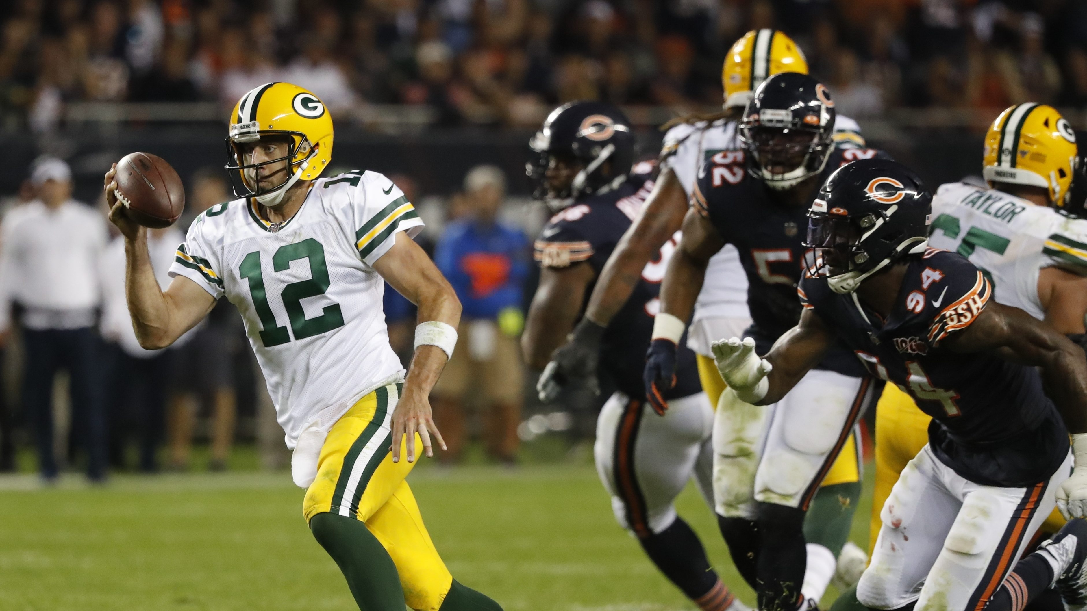Packers Beat Bears Nfl 100th Season Kickoff Game Ratings Rise Deadline