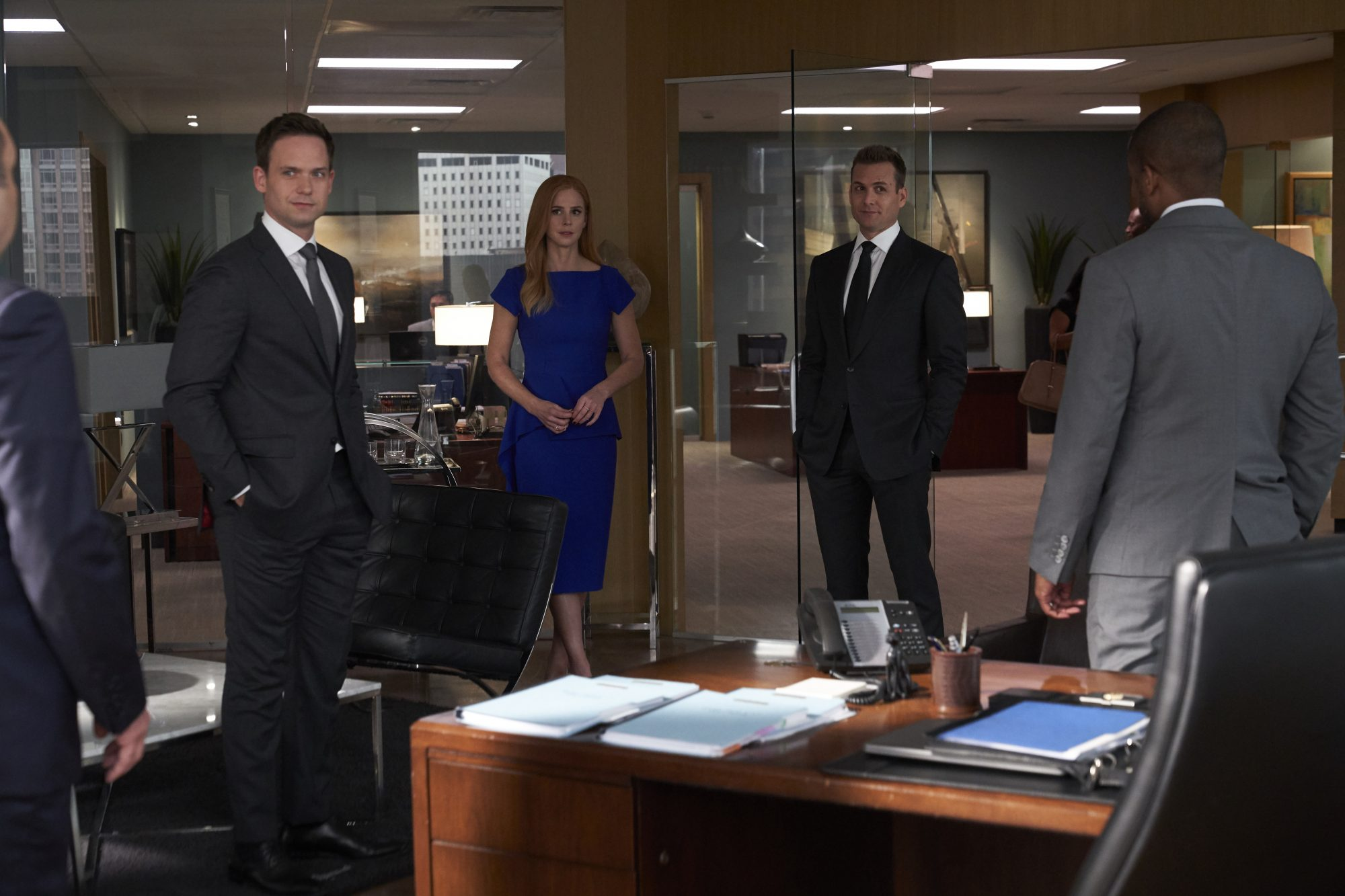 suits series finale creator aaron korsh on bittersweet ending coming full circle which alums couldn t come back what s next deadline suits series finale creator aaron