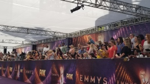 Emmy Red Carpet Humid