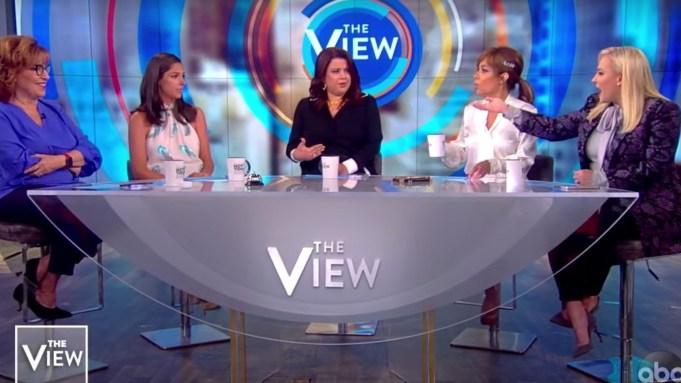 Megan McCain Walks Off 'The View'