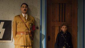 Taika Waititi and Roman Griffin Davis in 'Jojo Rabbit'